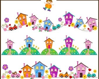 New House Clipart Etsy - New home clipart