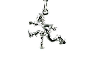 Sterling Silver Jack Be Nimble Charm For Bracelets