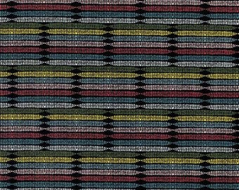 Black Stripe Fabric Perfect Petal Stripe Rosa by Amy Reber for Free Spirit Fabric Posy Collection Red and Black Fabric Modern Striped Fabric