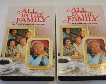 Set of 2 All in the Family Collector's Edition VHS Videos (1993)