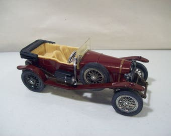 Vintage Corgi Classics 1927 Le Mans Bentley Die-cast Car, Great Britain, 1/43 Scale, 1985