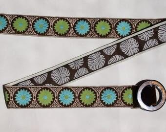 SALE Ladies Designer Belt / Reversible Belt / Ribbon Belt / Preppy Belt / BELT SALE