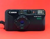 Canon Sureshot Max (Autoboy Mini / Prima 5) 38mm f/3.5 Lens, Autofocus Compact Point and Shoot Camera