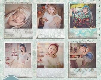 ON SALE NOW Digital Frames, Psd Photo Frame  template, Polaroid Photo Frames - Instant Download