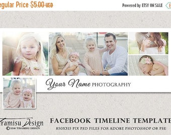 ON SALE Facebook Timeline Cover Photoshop Template, sku fbt16-1