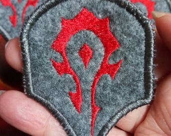 World of Warcraft Horde patch