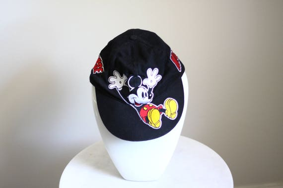 1980s Mickey Mouse ball hat // vintage Mickey hat // vintage Disney hat