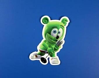 Gummibär (The Gummy Bear) Die Cut Sticker ~Vinyl Sticker