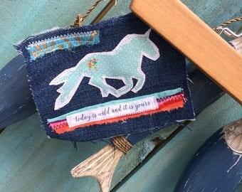 hippie frayed tattered boho horse