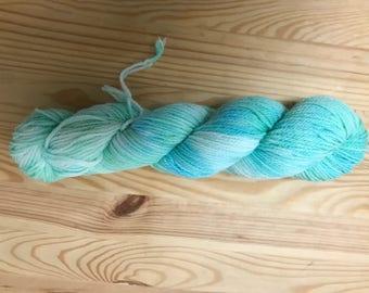 fingering weight - Variegated Yarn -  Merino wool - hand dyed wool- indie dyed yarn - merino wool - sock yarn - hand dyed Sock yarn -