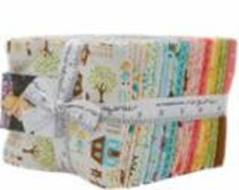 Home Sweet Home Fat Quarter Pack (28) by Stacy Iest Hsu for Moda