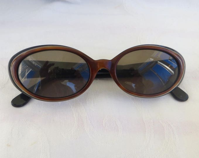 Vintage Fendi Sunglasses, Fendi Occhiali, Women's Sunglasses, Italy Blonde / Black, FS 190, 135, Authentic Designer Sunglasses