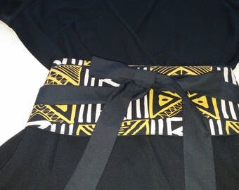 Ankara wrap belt