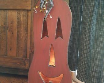 Pumpkin,  country pumpkin,  fall decor,  wooden pumpkin,  primitive fall,  country fall