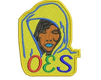 OES (Order of the Eastern Star) embroidery design