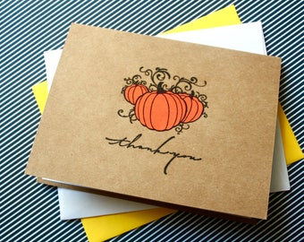 BULK fall thank you, 100 thank you cards, Bulk Cards, Bulk Pumpkin Cards, Fall Wedding, Bulk Thank You Cards, Pumpkin, Halloween thank you