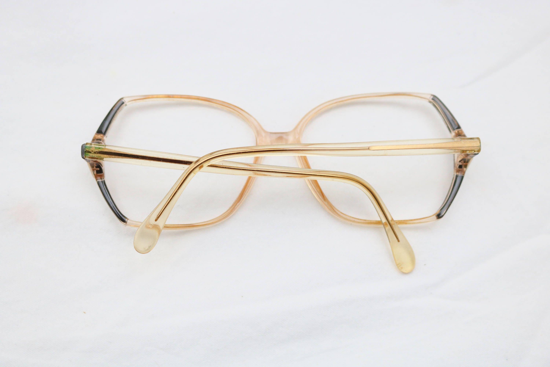 Rare 80\'s Vintage RODENSTOCK Clear Detailed Eyeglass Frames ...