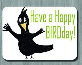 Happy BIRDday Card