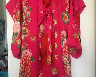 Vintage Kimono  small