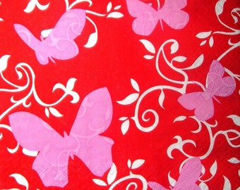 "Serviette ""Papillons 2"""