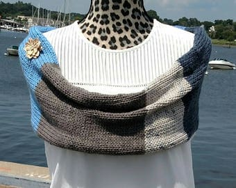 The Summer Showl (cowl/shawl)