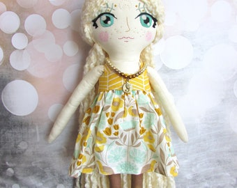 "Half Moon Doll ""Sunflower"""