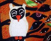 Sleeping Owl 5x7 Greeting Card Get Well