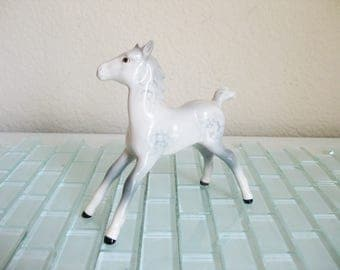 Beswick Gray Foal Figurine Porcelain Stretched Legs