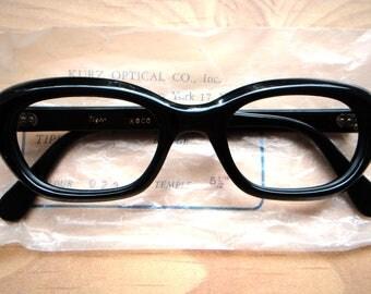 1960s vintage eyeglasses frame new old stock