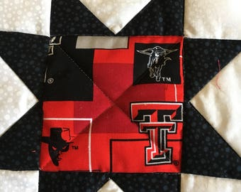 Texas Tech pot holder