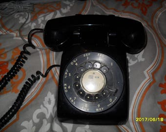 Vintage Rotary Ma Bell Telephone