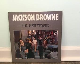 "Jackson Browne ""The Pretender"" vinyl record"