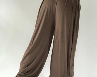 YG0096 Super Soft Spandex Harem Yoga Pants, perfect fit