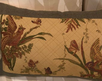 14in x 18in bird pillow cover