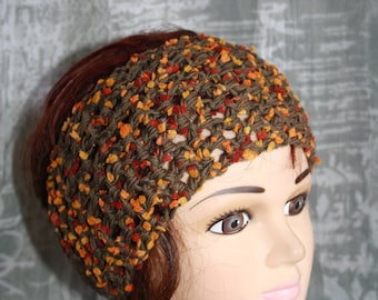 headband made of cotton and fancy very practical