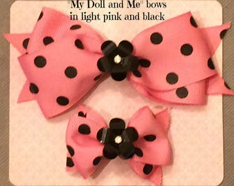 My Doll and Me hair bows
