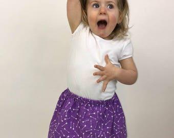 Arrow Skirt - Purple Skirt - Girls Arrow Skirt - Purple Birthday Outfit - Baby Arrow Skirt - Modern Girls Skirt - Purple Birthday Skirt
