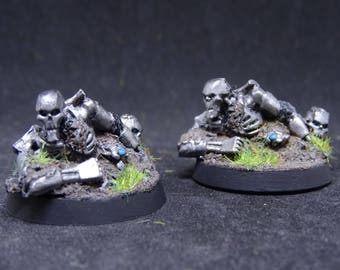 Necron. Rised Macine, Hidden Army, Objective Marker for Warhammer 40,000. Hand Painted Miniature from Games Workshop