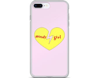 Moody Girl iPhone Case