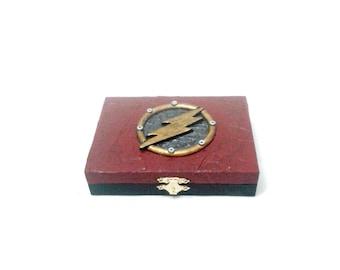 Flash Playing Card Box, Flash box
