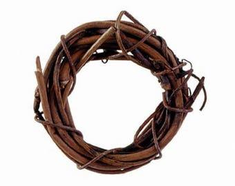Miniature Grapevine Wreath - Natural - 1 inch - 8 Pieces per Pack (dar282512)