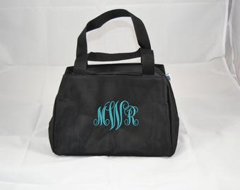 Monogrammed Lunch Tote - Insulated Lunch Tote - Lunch Purse - Personalized Lunch Purse - Personalized Lunch Box