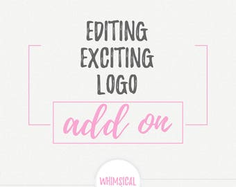 Editing exciting logo fees - Reserved listing