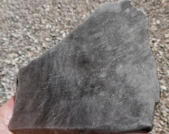 Silver Sheen Obsidian Slab  (100X90X8)