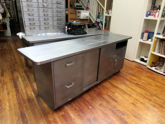 Industrial Steel Credenza by McDowell and Craig