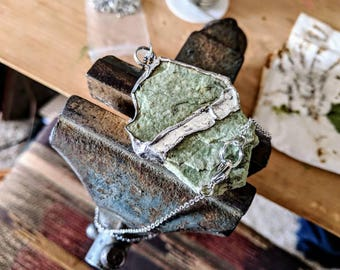 Soldered Green Rhyolite