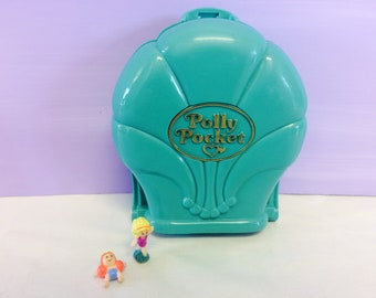 Vintage Polly Pocket, Splash 'n Slide Water Park, 1995 Bluebird Toys, Green Compact Case, Vintage Toys, 1990s Girl Toys, Pretend Waterpark
