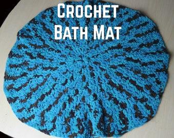Crochet Bath Mat Rug