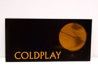 Coldplay Gift Etsy