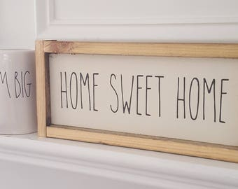 4x10 Sign/Plaque - Home Sweet Home